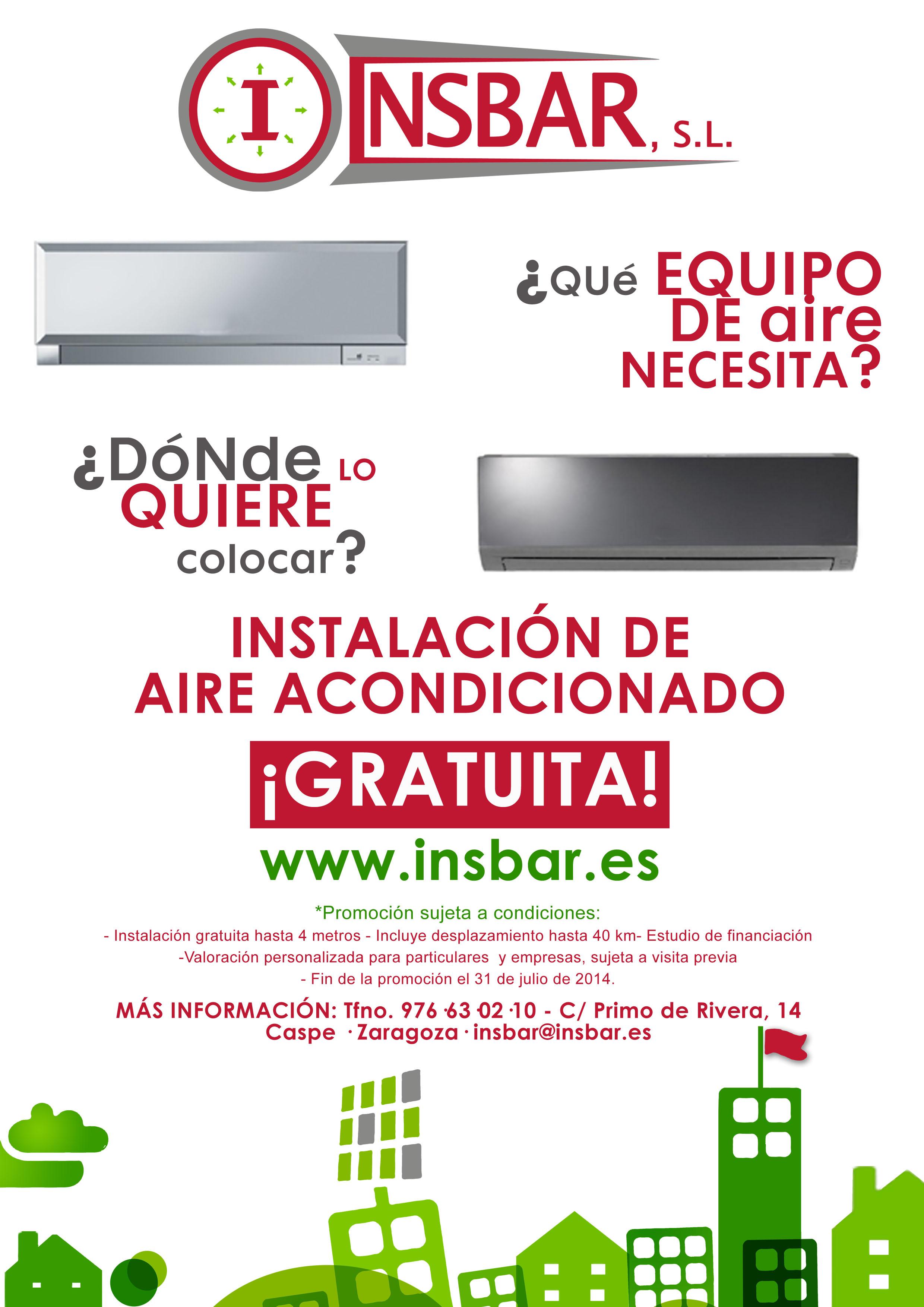 INSBAR - PROMOCION AIRE ACONDICIONADO copia