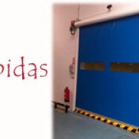 MONTAJE DE PUERTAS RÁPIDAS INDUSTRIALES